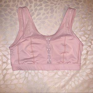 Fabletics Demi Lovato Collection Pink Sports Bra